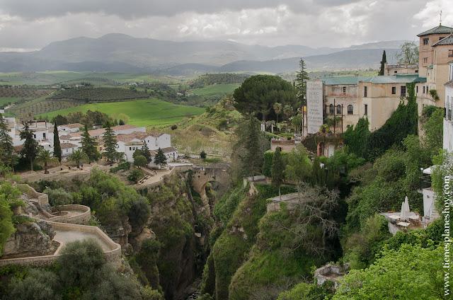 Vistas Ronda Palacio Rey Moro