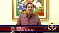 Profil Biografi Rizal Ramli