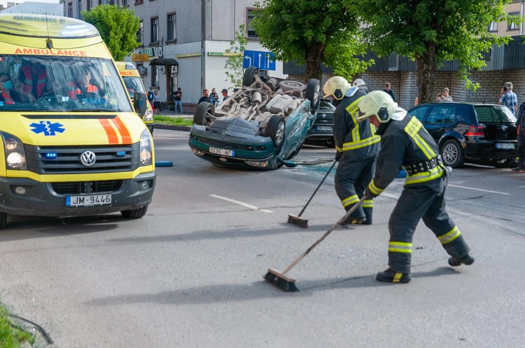 avārija Jelgavā 5