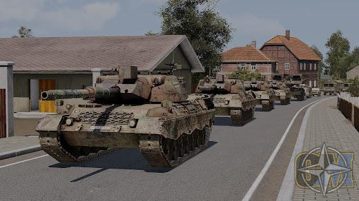 Arma3用中央ヨーロッパの冷戦を再現するGlobal Mobilization MOD