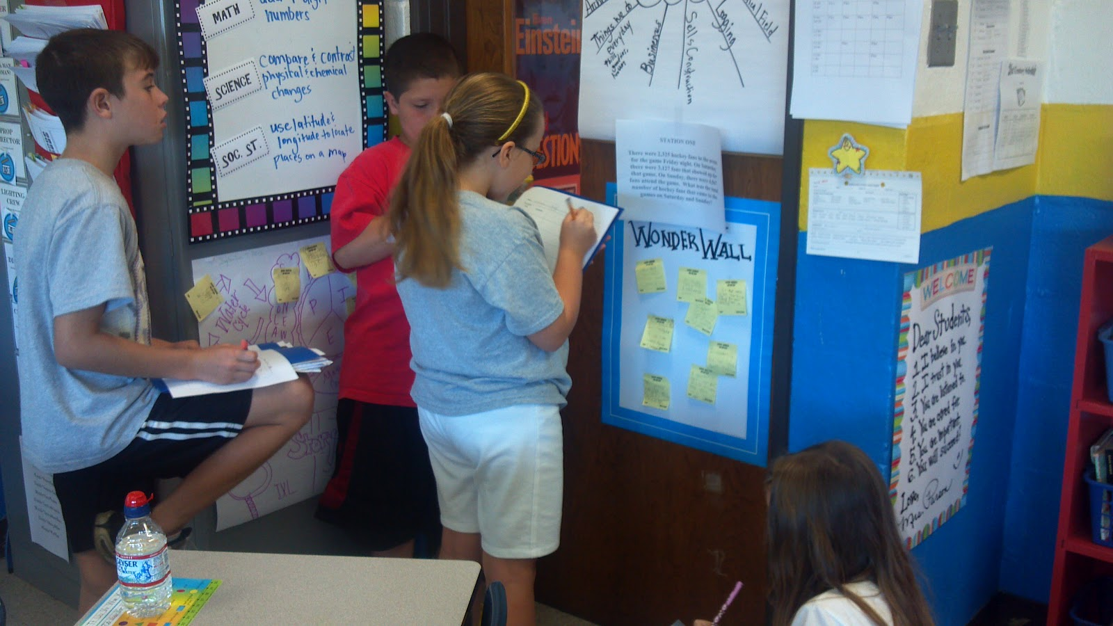 Lights Camera Learn Gallery Walk Addition Word Problems