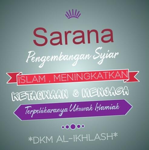 Kata Mutiara Islam Dkm Al Ikhlash Vip