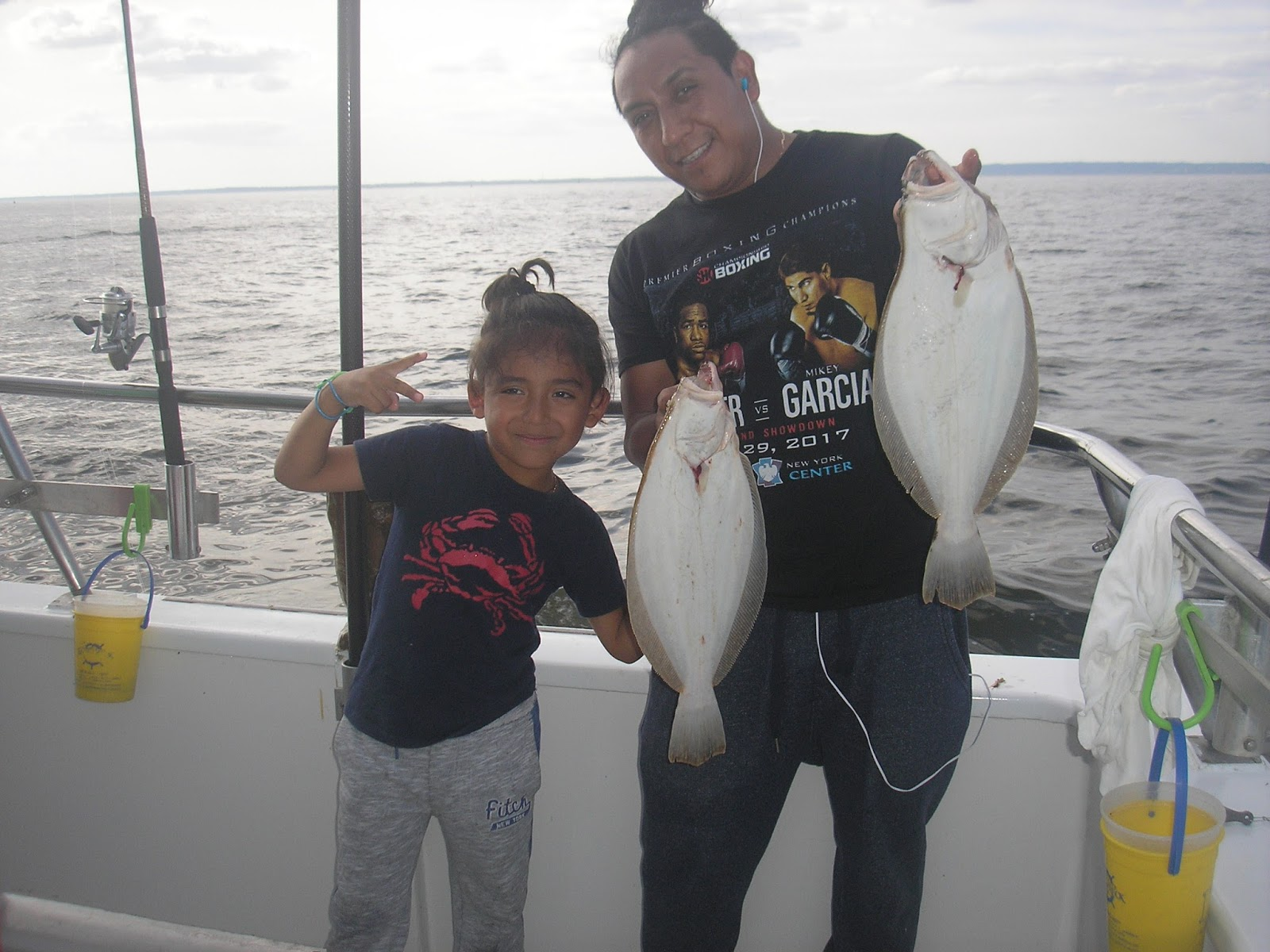 Sea tiger ii fishing report sunday 8 13 bill gets the for Bills fishing report