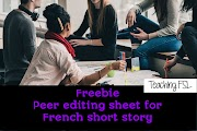 Peer Editing - Short Stories
