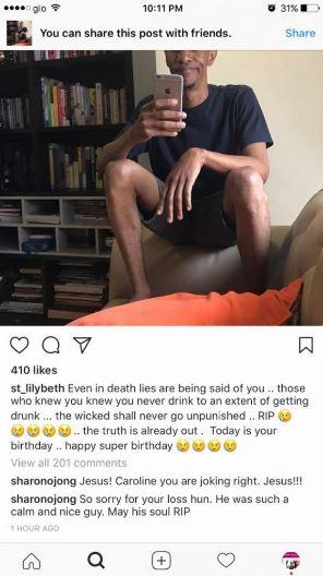 "'I warned you""- Caroline Danjuma Shares Photo of Late Tagbo and Davido to confirm they were friends"