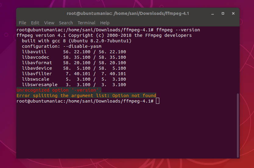FFmpeg 4 1 2 Release, Install on Ubuntu / Linux Mint / Debian and MX