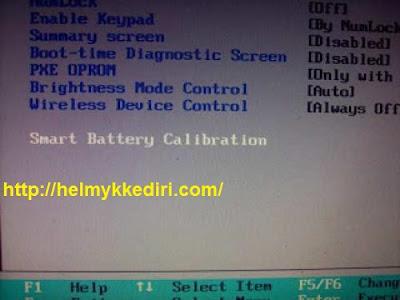 Cara kalibrasi baterai laptop agar kembali baru7