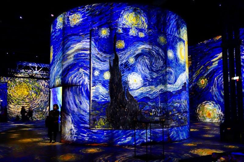 Expo : Van Gogh, La Nuit étoilée   Atelier Des Lumières   Jusquu0027au 31  Décembre 2019