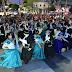 """Atractivo festival por el """"Día de la Tradición"""" en la plaza San Martín"""