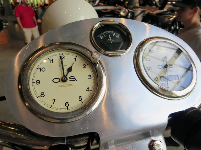 The Majestic Motorcycle Dashboard