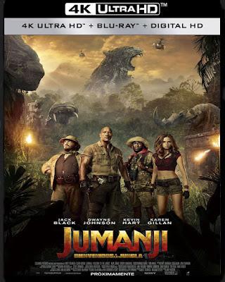 Jumanji: En la selva (2017) 4K HDR Latino