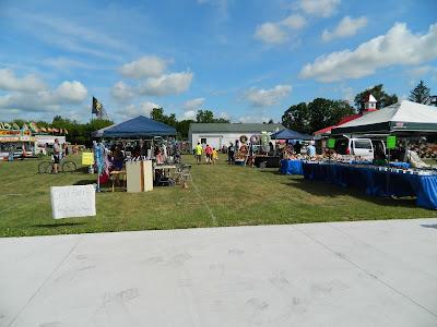 Vendors at Sumner Daze Festival