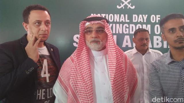 Dubes Arab Saudi Angkat Bicara soal Kabar Pencegahan HRS ke Malaysia