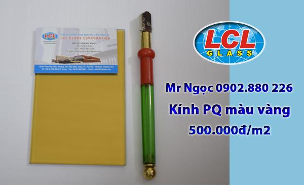 Kính Phản Quang màu vàng LCL Glass