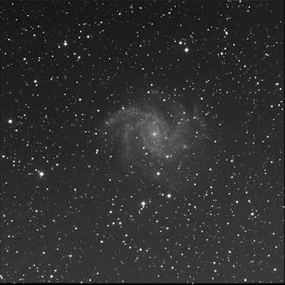 RASC Finest galaxy NGC 6946 luminance