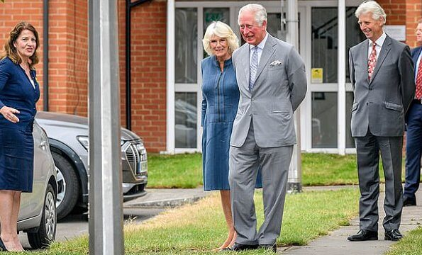 The Prince of Wales and The Duchess of Cornwall visited Gloucestershire Royal Hospital and thanked key workers