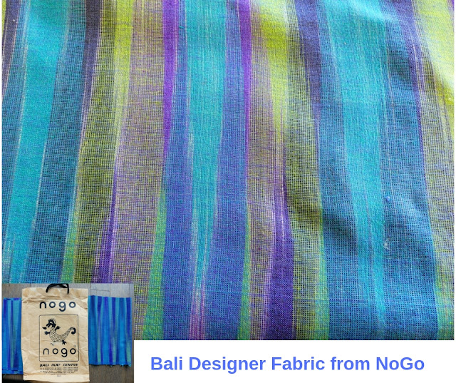 DIY Drapes close-up Bali fabric from Nogo