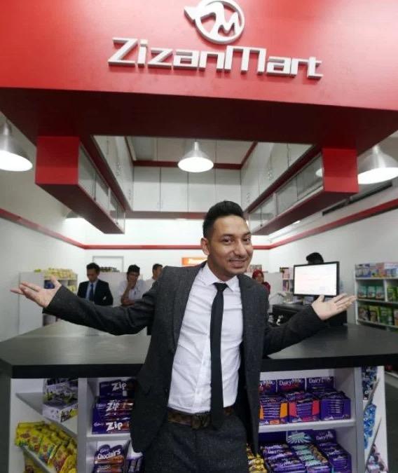 Zizan Jawab Isu Zizan Mart yang Didakwa Gulung Tikar