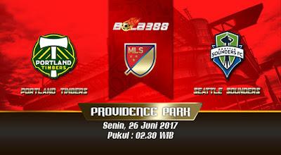 Situs Agen Bola Terbaik - Prediksi Pertandingan MLS, Portland Timbers vs Seattle Sounders 26 Juni 2017