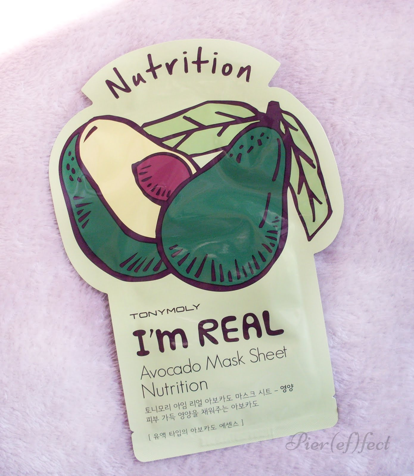 Review TonyMoly I'm Real Sheet Mask