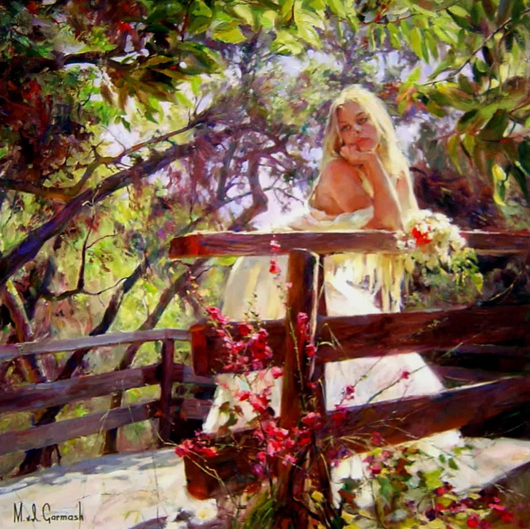 Toda Beleza nas Pinturas de Michael Garmash - Beleza feminina