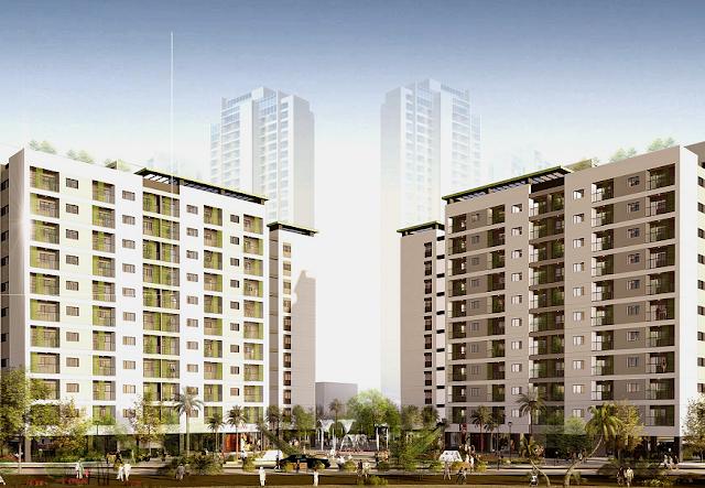 Tòa CT5 CT6 Hồng Hà Eco City