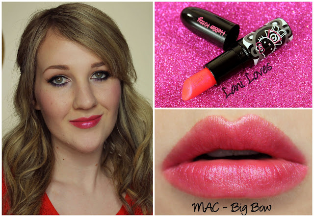 MAC Big Bow Lipstick swatch