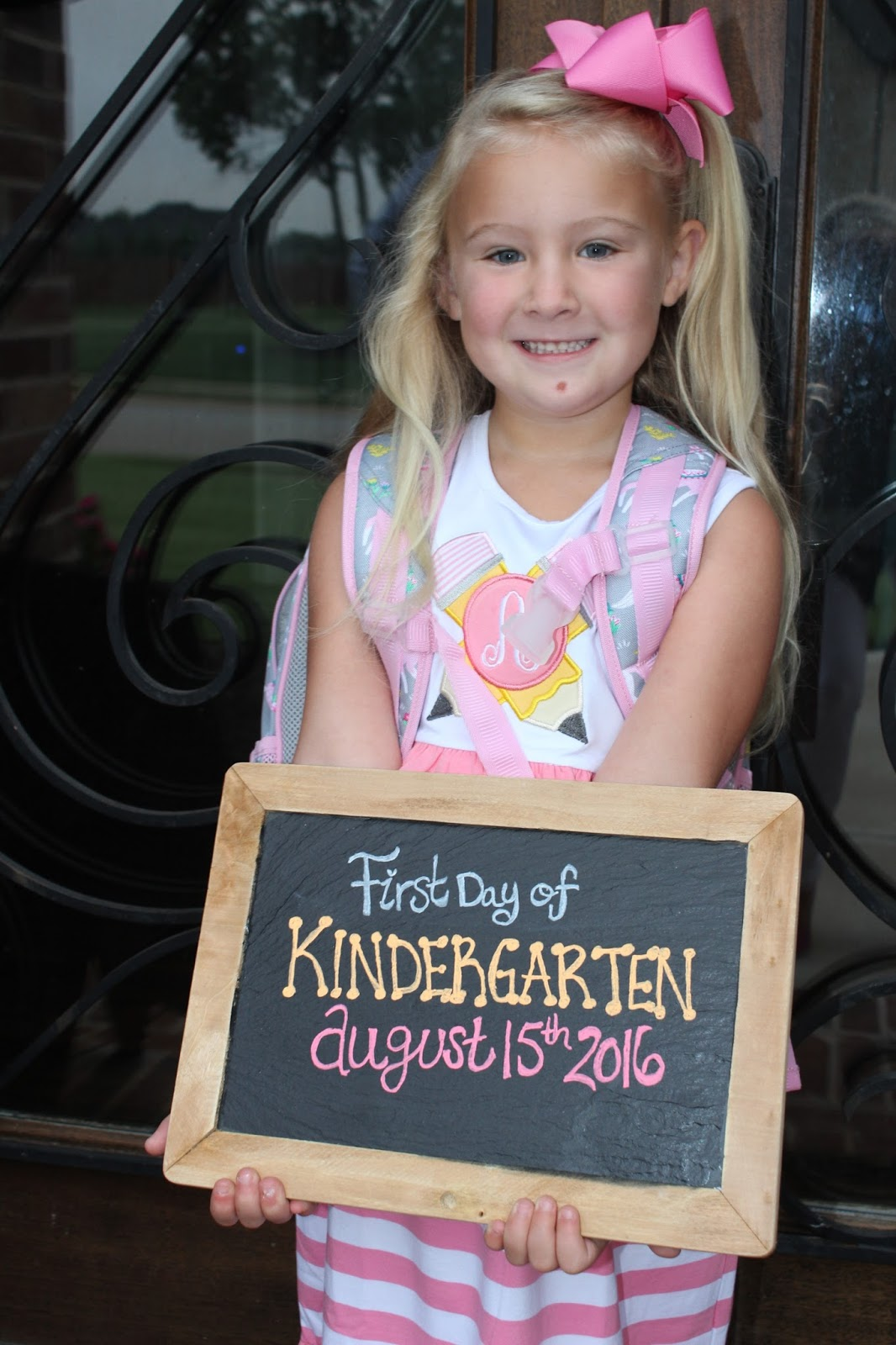 IMG 7790 - 1st Day Of Kindergarten
