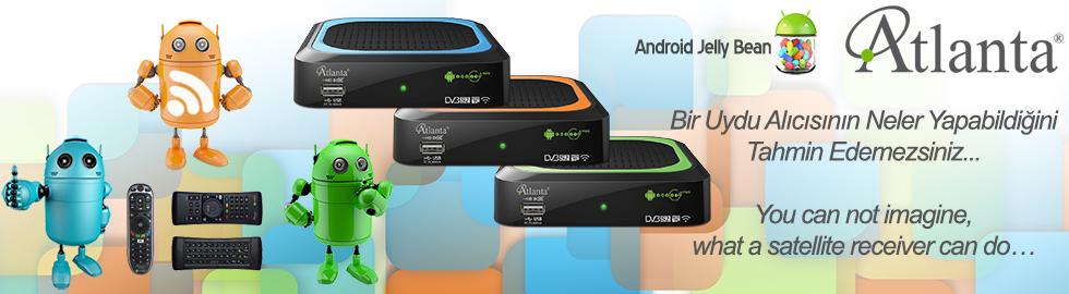 Atlanta Smart Box G4 Mini Android İşletim Sistemli Akıllı Full HD Uydu Alıcı