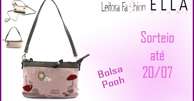 4bb01922f Sorteio: Bolsa Pooh (Ella Store)   Leitora Fashion
