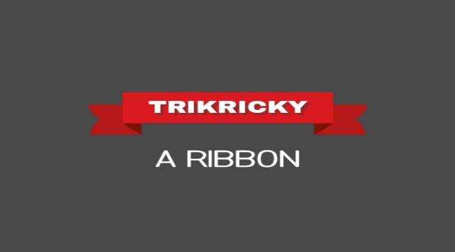 Cara Membuat Ribbon Pure CSS