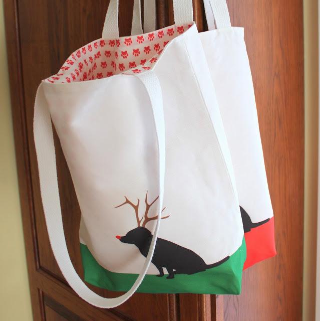 Sneek Peak – Doggy Reindeer Bags