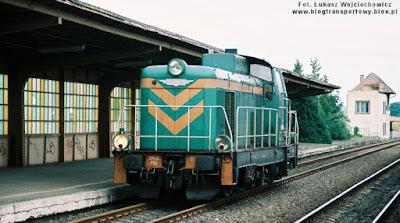 Lokomotywa SM42-860 w Gorzowie Wielkopolskim