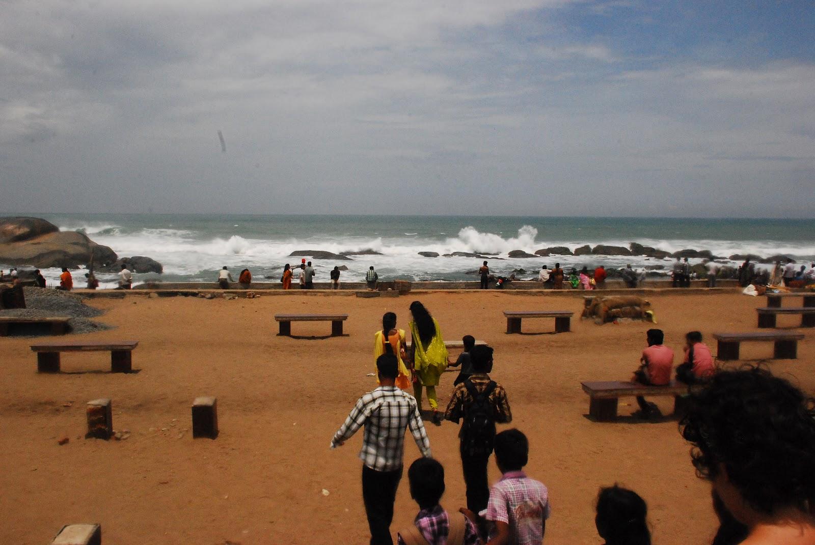 OreGal Express: Kanyakumari, India. Where Three Oceans Meet.