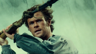 Chris Hemsworth as Owen Chase in In the Heart of the Sea, Directed by Ron Howard