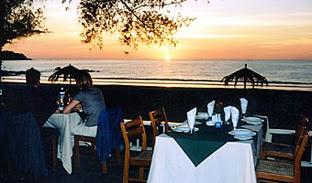 Ngapali beach dinner