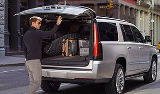 2017 cadillac escalade: performace power liftgate