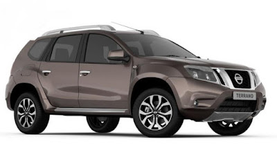 Nissan Terrano AMT right side view