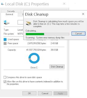 cara membersihkan file sampah windows