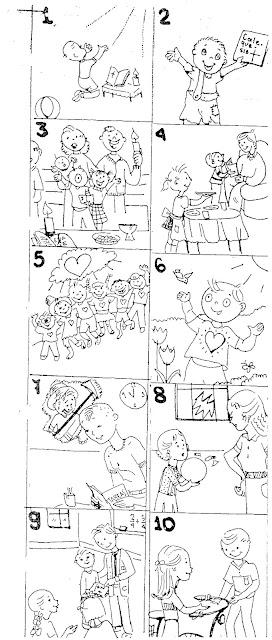 Escuela Dominical Trabajo Manual Para Niños De Los 10