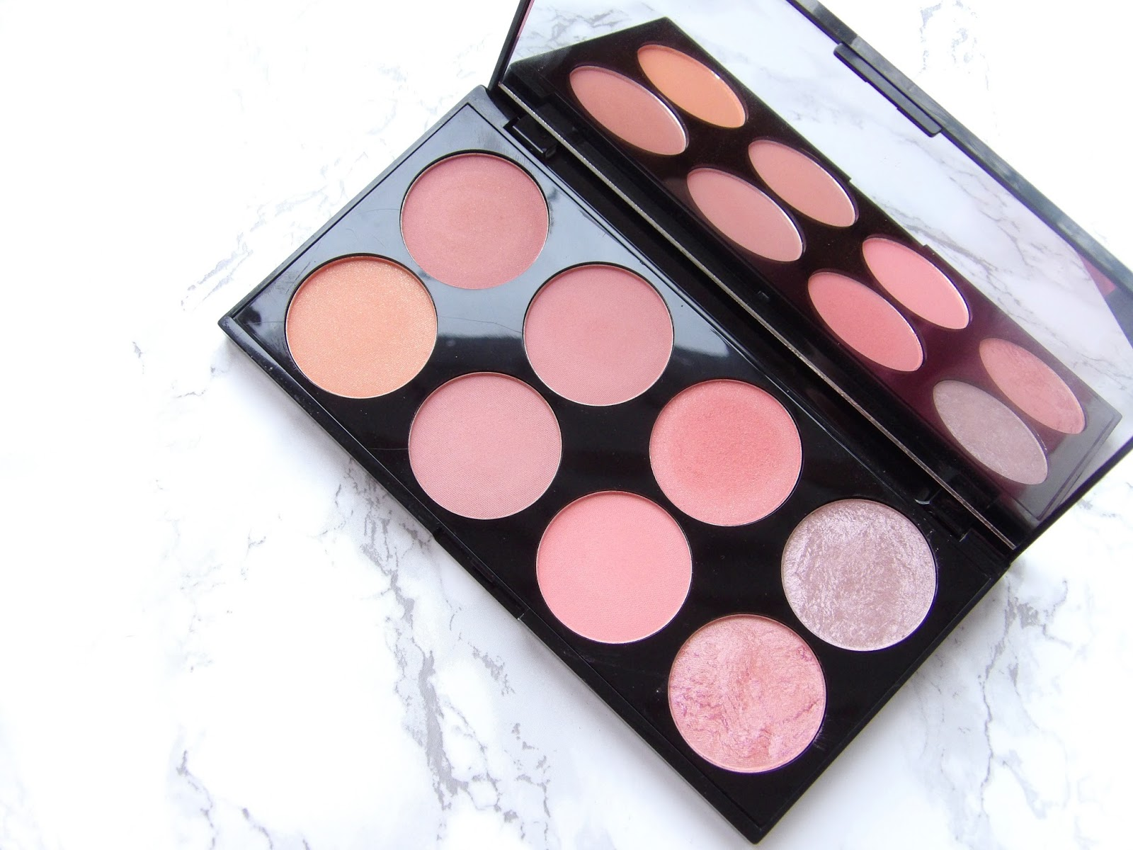 MAKEUP REVOLUTION ULTRA BLUSH PALETTE | REVIEW + SWATCHES