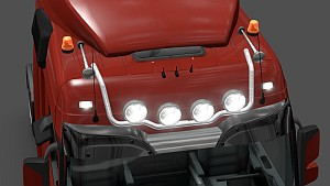 New roofbar for Mercedes Actros 2009
