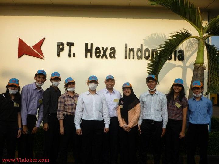 Info Lowongan Kawasan Ejip Cikarang PT Hexa Indonesia Lulusan SMA/SMK
