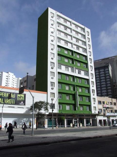 Guaíra Palace Hotel é um dos poucos estabelecimentos com registro obrigatório em Curitiba
