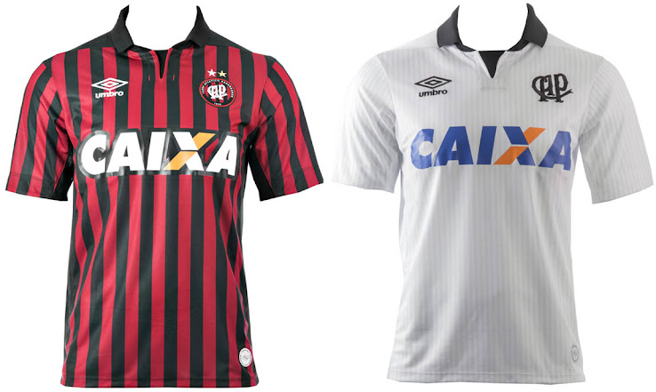9ba1531bf2e Umbro Atlético Paranaense 2014 Home and Away Kits Released - Footy ...