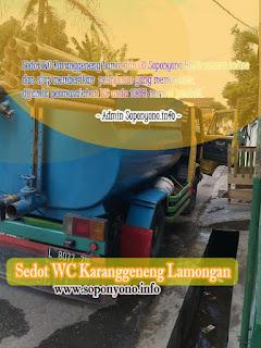 Layanan Sedot WC Karanggeneng Lamongan Murah