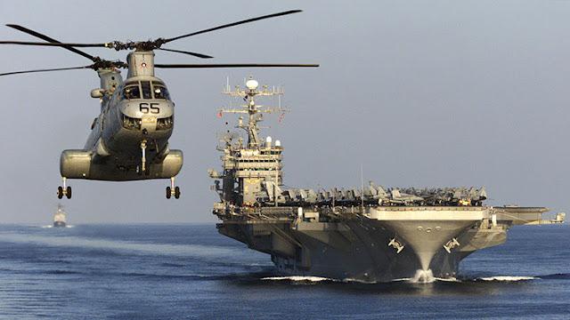 """La flota de EE.UU. enviada a aguas norcoreanas hará una maniobra """"sin precedentes"""""""
