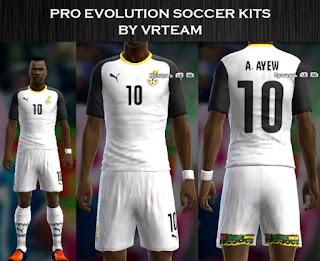 Ghana 2016 home kit Pes 2013
