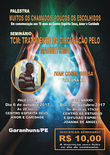 Palestra e seminário com IVAN COSTA SOUSA em Garanhuns - PE