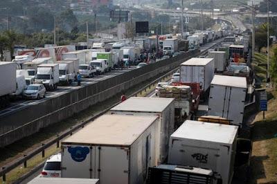 Frete tabelado provoca aumento de 12% nos gastos com transporte rodoviário